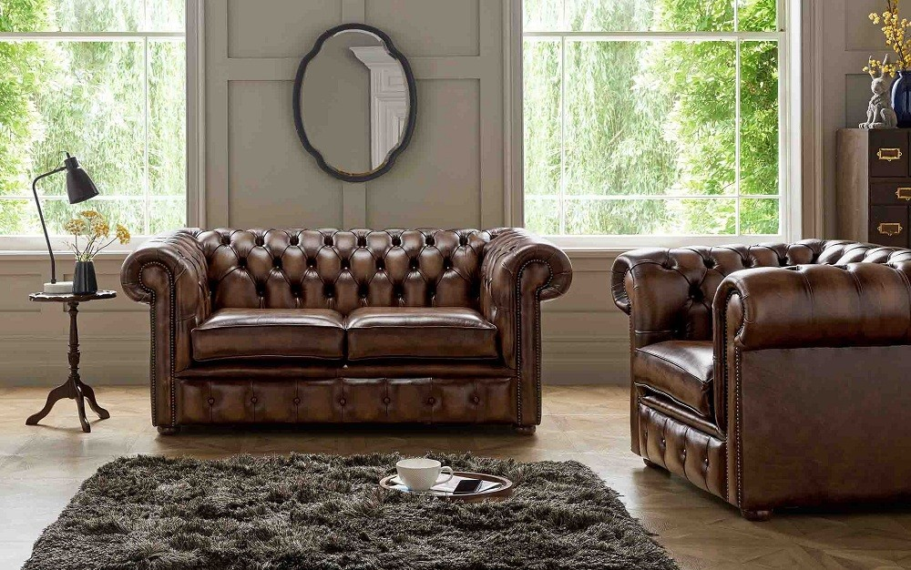 Chesterfield Sofa And Loveseat British Chesterfield Sofas